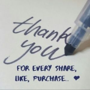 ❤️Thank U 4 each & every share, like $ purchase ❤️